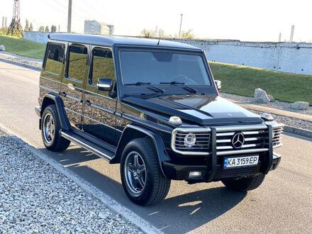 Черный Мерседес Г 500, объемом двигателя 5 л и пробегом 94 тыс. км за 37000 $, фото 1 на Automoto.ua