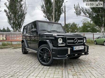 Чорний Мерседес Г 500, об'ємом двигуна 5 л та пробігом 115 тис. км за 36900 $, фото 1 на Automoto.ua