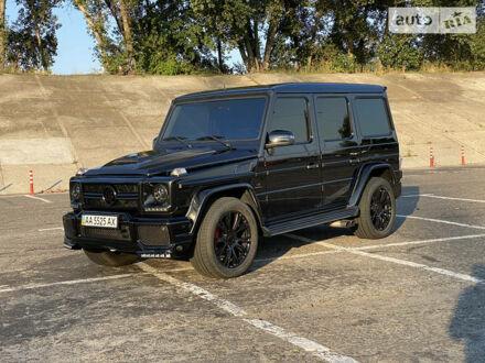 Чорний Мерседес Г 500, об'ємом двигуна 5 л та пробігом 230 тис. км за 39700 $, фото 1 на Automoto.ua
