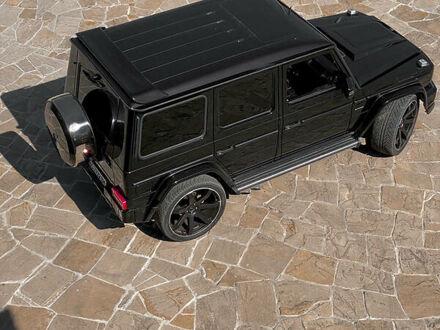 Черный Мерседес Г 500, объемом двигателя 5.5 л и пробегом 118 тыс. км за 48000 $, фото 1 на Automoto.ua