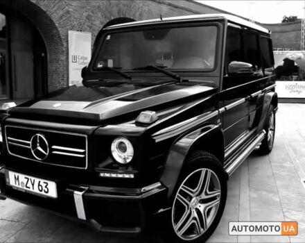 Чорний Мерседес Г 500, об'ємом двигуна 5 л та пробігом 193 тис. км за 36000 $, фото 1 на Automoto.ua