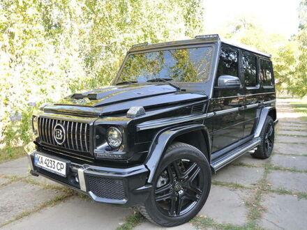 Чорний Мерседес Г 55 АМГ, об'ємом двигуна 5.4 л та пробігом 197 тис. км за 37200 $, фото 1 на Automoto.ua