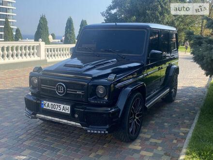Черный Мерседес Г 55 АМГ, объемом двигателя 5.5 л и пробегом 140 тыс. км за 38999 $, фото 1 на Automoto.ua