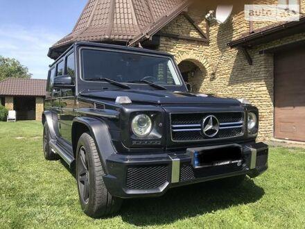 Чорний Мерседес Г 55 АМГ, об'ємом двигуна 5.5 л та пробігом 214 тис. км за 40000 $, фото 1 на Automoto.ua