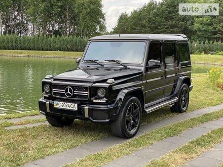 Черный Мерседес Г 63 АМГ, объемом двигателя 5.5 л и пробегом 114 тыс. км за 72000 $, фото 1 на Automoto.ua