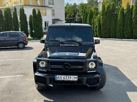 Черный Мерседес Г 63 АМГ, объемом двигателя 5.5 л и пробегом 94 тыс. км за 70000 $, фото 1 на Automoto.ua