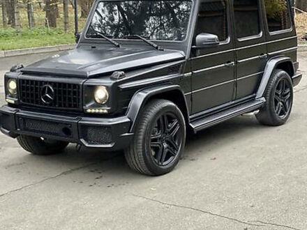 Черный Мерседес Г 63 АМГ, объемом двигателя 5.5 л и пробегом 121 тыс. км за 69000 $, фото 1 на Automoto.ua