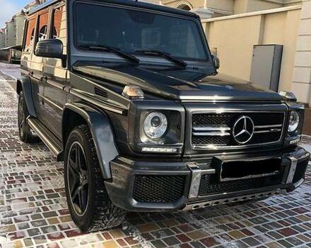Черный Мерседес Г 63 АМГ, объемом двигателя 5.5 л и пробегом 18 тыс. км за 145000 $, фото 1 на Automoto.ua