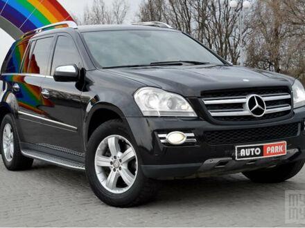 Чорний Мерседес ГЛ 320, об'ємом двигуна 3 л та пробігом 199 тис. км за 20990 $, фото 1 на Automoto.ua