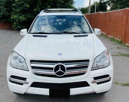 Білий Мерседес ГЛ 350, об'ємом двигуна 3 л та пробігом 153 тис. км за 24999 $, фото 1 на Automoto.ua