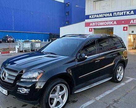 Черный Мерседес ГЛ 550, объемом двигателя 5.5 л и пробегом 230 тыс. км за 20000 $, фото 1 на Automoto.ua