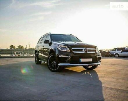 Черный Мерседес ГЛ 550, объемом двигателя 4.7 л и пробегом 165 тыс. км за 51777 $, фото 1 на Automoto.ua