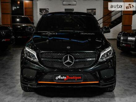 Черный Мерседес GLE 43 AMG, объемом двигателя 3 л и пробегом 45 тыс. км за 76000 $, фото 1 на Automoto.ua