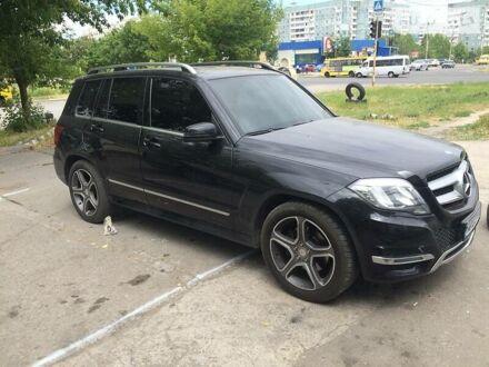 Черный Мерседес ГЛК 200, объемом двигателя 2.2 л и пробегом 230 тыс. км за 23500 $, фото 1 на Automoto.ua