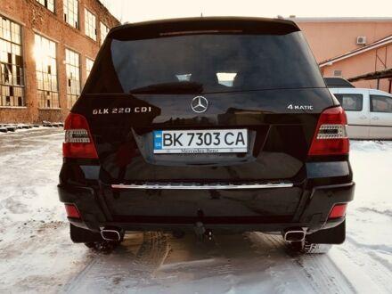 Черный Мерседес ГЛК 220, объемом двигателя 2.2 л и пробегом 178 тыс. км за 23950 $, фото 1 на Automoto.ua