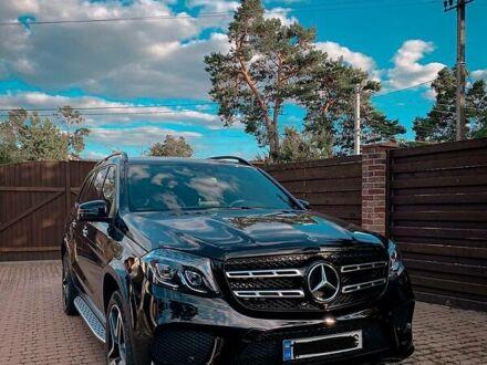 Черный Мерседес ГЛС 350, объемом двигателя 3 л и пробегом 25 тыс. км за 80000 $, фото 1 на Automoto.ua