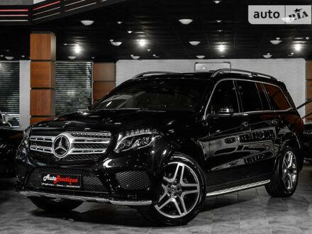 Чорний Мерседес ГЛС 350, об'ємом двигуна 3 л та пробігом 52 тис. км за 69900 $, фото 1 на Automoto.ua