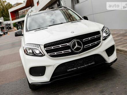 Білий Мерседес GLS 550, об'ємом двигуна 4.7 л та пробігом 51 тис. км за 75000 $, фото 1 на Automoto.ua