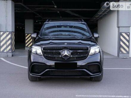 Чорний Мерседес ГЛС 63, об'ємом двигуна 5.5 л та пробігом 94 тис. км за 75555 $, фото 1 на Automoto.ua