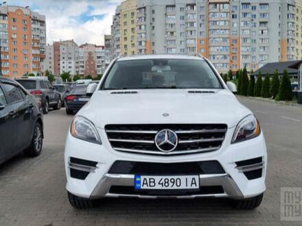 Белый Мерседес МЛ 250, объемом двигателя 2.2 л и пробегом 50 тыс. км за 29999 $, фото 1 на Automoto.ua