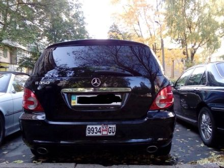Чорний Мерседес Р 350, об'ємом двигуна 3.5 л та пробігом 168 тис. км за 14000 $, фото 1 на Automoto.ua
