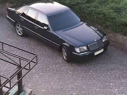 Черный Мерседес С 420, объемом двигателя 4.2 л и пробегом 370 тыс. км за 14500 $, фото 1 на Automoto.ua