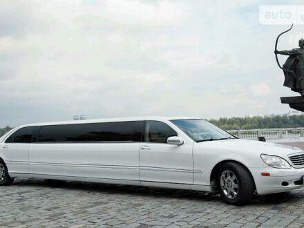 Білий Мерседес С 430, об'ємом двигуна 4.3 л та пробігом 120 тис. км за 10000 $, фото 1 на Automoto.ua