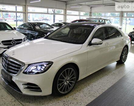 Белый Мерседес S 560, объемом двигателя 4 л и пробегом 1 тыс. км за 186000 $, фото 1 на Automoto.ua