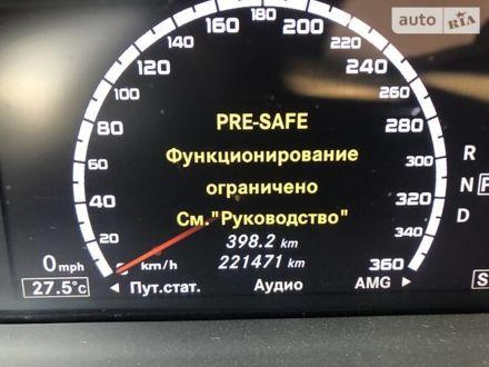 Черный Мерседес С 600, объемом двигателя 5.5 л и пробегом 224 тыс. км за 17500 $, фото 1 на Automoto.ua