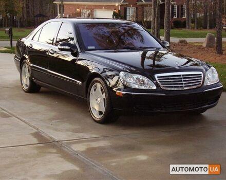 Чорний Мерседес С 600, об'ємом двигуна 5.5 л та пробігом 77 тис. км за 36500 $, фото 1 на Automoto.ua