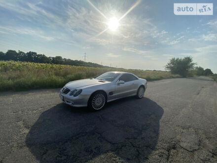 Серый Мерседес СЛ 500, объемом двигателя 5 л и пробегом 160 тыс. км за 17000 $, фото 1 на Automoto.ua