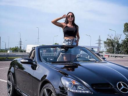 Черный Мерседес СЛК 200, объемом двигателя 1.8 л и пробегом 168 тыс. км за 11900 $, фото 1 на Automoto.ua