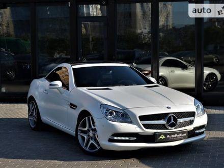 Білий Мерседес СЛК 250, об'ємом двигуна 1.8 л та пробігом 127 тис. км за 20999 $, фото 1 на Automoto.ua