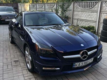 Синій Мерседес СЛК 250, об'ємом двигуна 1.8 л та пробігом 48 тис. км за 24700 $, фото 1 на Automoto.ua