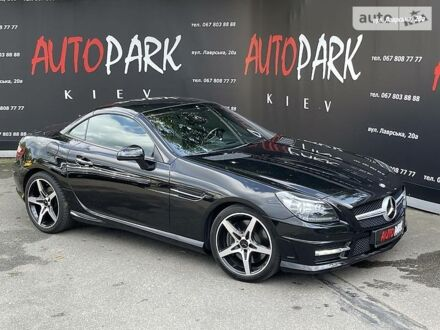 Чорний Мерседес СЛК 350, об'ємом двигуна 3.5 л та пробігом 46 тис. км за 21800 $, фото 1 на Automoto.ua