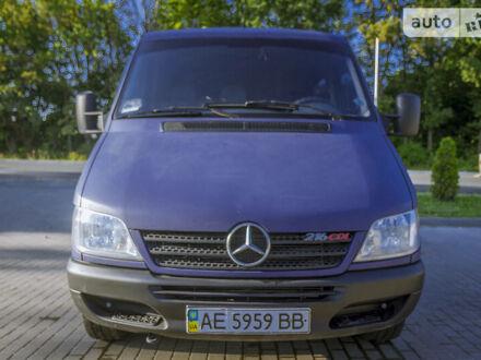 Синій Мерседес Sprinter 216 груз.-пасс., об'ємом двигуна 2.7 л та пробігом 281 тис. км за 10800 $, фото 1 на Automoto.ua