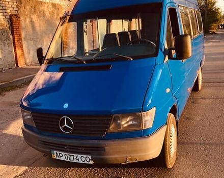 Синий Мерседес Спринтер 310 пасс., объемом двигателя 2.9 л и пробегом 110 тыс. км за 7200 $, фото 1 на Automoto.ua