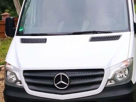 Білий Мерседес Спрінтер 313 пас., об'ємом двигуна 2.1 л та пробігом 190 тис. км за 20999 $, фото 1 на Automoto.ua