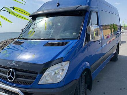 Синій Мерседес Спрінтер 516 пас., об'ємом двигуна 2.2 л та пробігом 450 тис. км за 17200 $, фото 1 на Automoto.ua