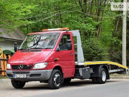 Червоний Мерседес Спрінтер 616 вант., об'ємом двигуна 2.7 л та пробігом 192 тис. км за 22700 $, фото 1 на Automoto.ua