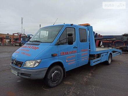Синій Мерседес Спрінтер 616 вант., об'ємом двигуна 2.7 л та пробігом 283 тис. км за 24515 $, фото 1 на Automoto.ua