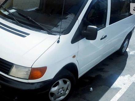 Белый Мерседес Vito 108, объемом двигателя 2.3 л и пробегом 570 тыс. км за 5000 $, фото 1 на Automoto.ua