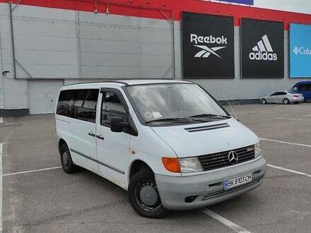 Белый Мерседес Vito 108, объемом двигателя 2.2 л и пробегом 136 тыс. км за 4700 $, фото 1 на Automoto.ua