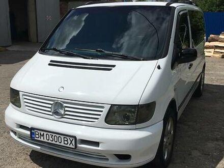 Білий Мерседес Vito 108, об'ємом двигуна 2.1 л та пробігом 420 тис. км за 6900 $, фото 1 на Automoto.ua