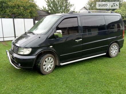 Черный Мерседес Vito 108, объемом двигателя 2.2 л и пробегом 300 тыс. км за 5800 $, фото 1 на Automoto.ua