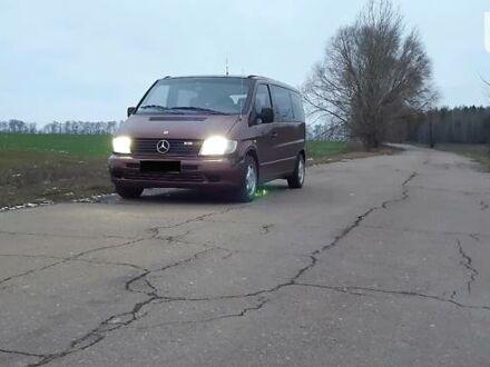 Коричневый Мерседес Vito 108, объемом двигателя 2.2 л и пробегом 700 тыс. км за 5800 $, фото 1 на Automoto.ua