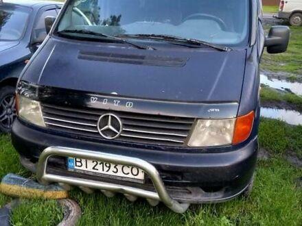 Синий Мерседес Vito 108, объемом двигателя 2.3 л и пробегом 480 тыс. км за 3500 $, фото 1 на Automoto.ua