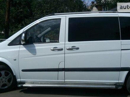 Белый Мерседес Vito 109, объемом двигателя 0 л и пробегом 160 тыс. км за 8000 $, фото 1 на Automoto.ua
