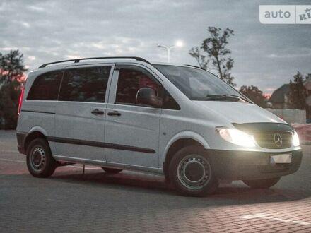 Белый Мерседес Vito 109, объемом двигателя 2.2 л и пробегом 333 тыс. км за 7200 $, фото 1 на Automoto.ua