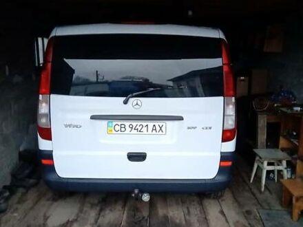 Белый Мерседес Vito 109, объемом двигателя 2.1 л и пробегом 190 тыс. км за 8950 $, фото 1 на Automoto.ua
